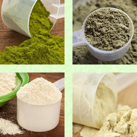 Vegetarian Protein Bakgrund