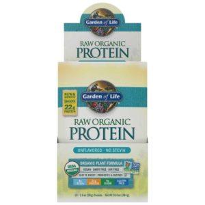 RAW Organic Protein - Provpåse Naturell