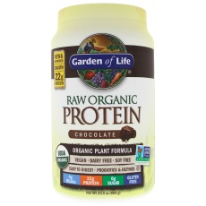 RAW Organic Protein Garden of Life Choklad