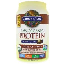 RAW Organic Protein Garden of Life Vanilj Chai
