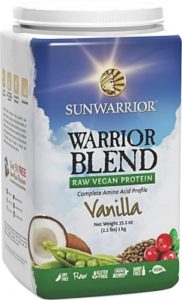Warrior Blend Protein Vanilj - Sunwarrior