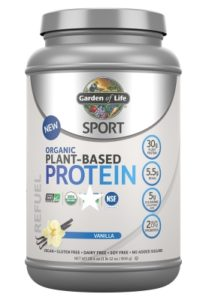 Vegetarian protein - Garden of Life SPORT Organic Protein Vanilj